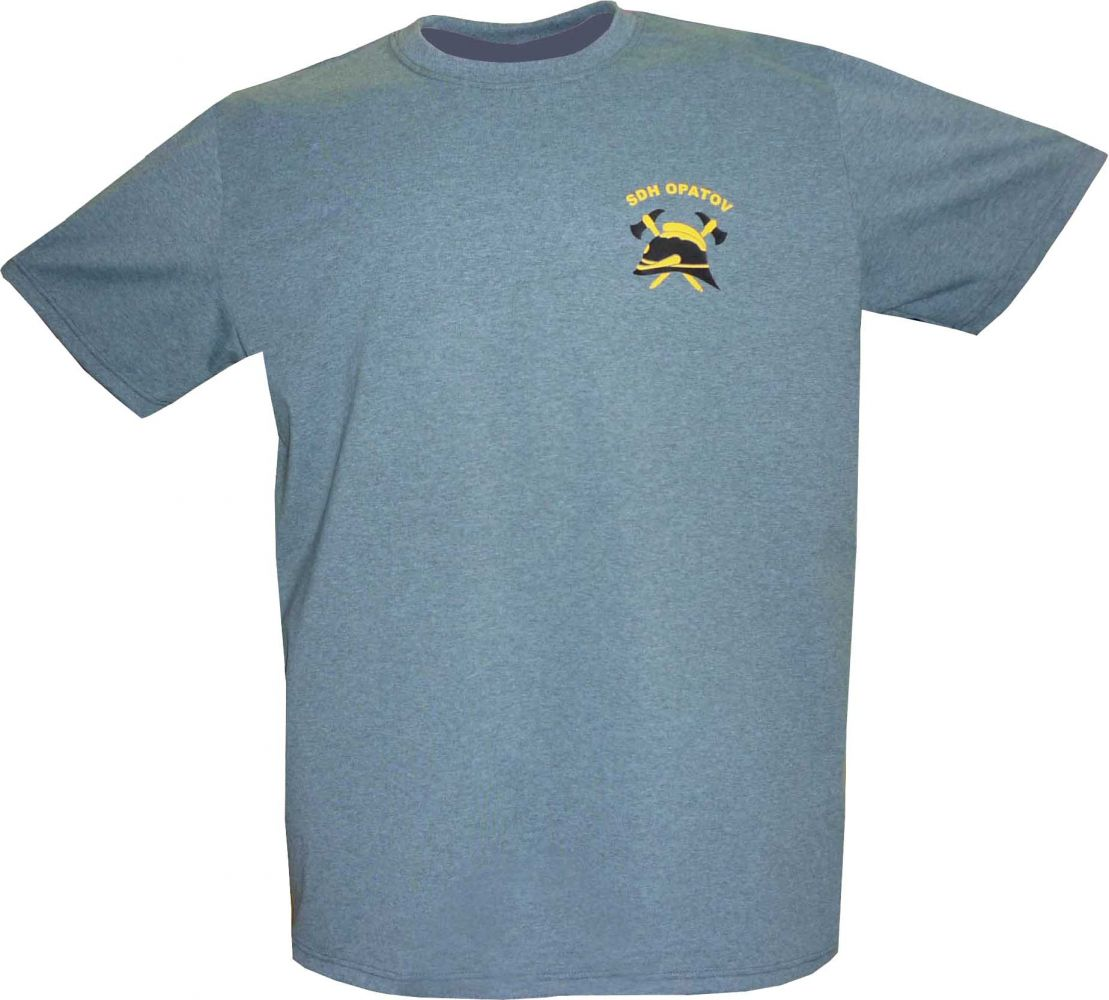 tričko s nápisem hasiči a logem sboru sdh